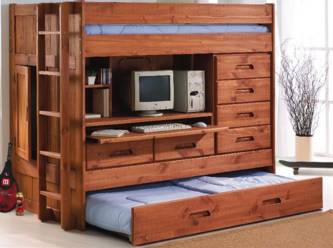 Bunk Beds U0026 Loft Beds Galore: Discovery Twin All In One Loft   Only $899