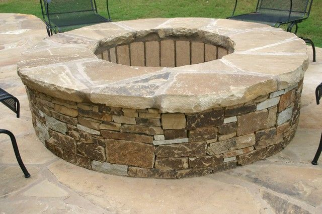 Stone Fire Pit Fire Pit Landscaping Fire Pit Outdoor Fire Pit