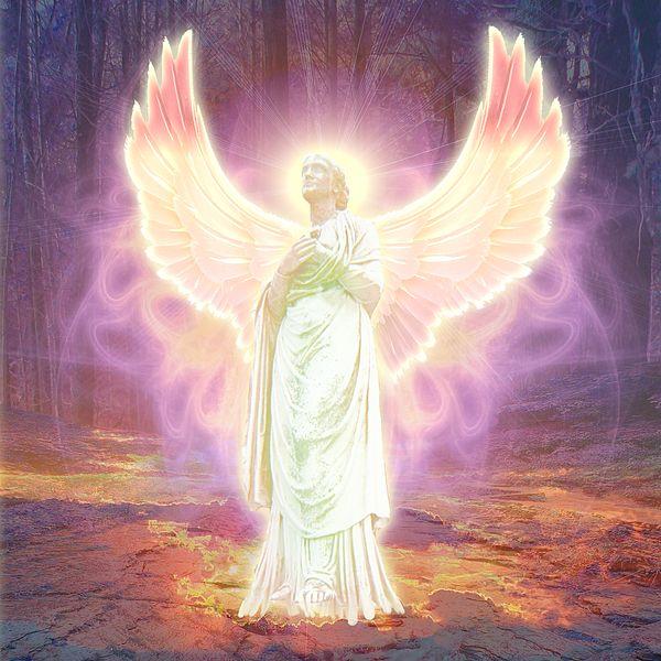 New artwork by Michael Waters - Guardian Angel of God | !_ Art ...