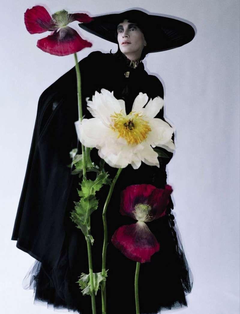 Butterfly-Accessorized Editorials : Vogue Gioiello September 2012