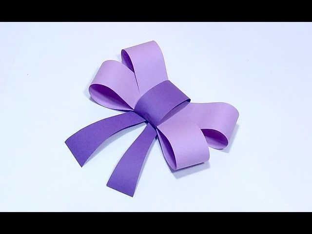 Simple Paper Bow Foam Bow Ribbon Bow Gift Wrapping Art