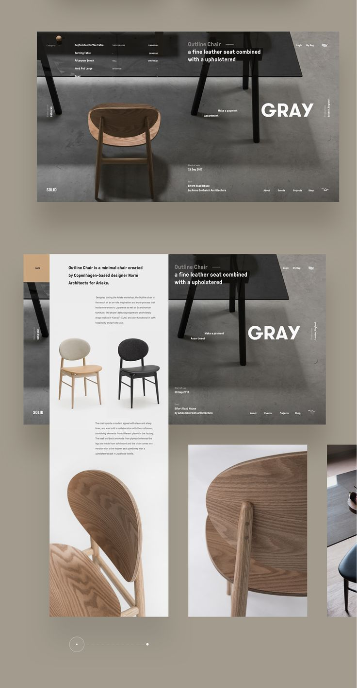 Web Design and Motion Design Inspiration: SOLID #userinterface