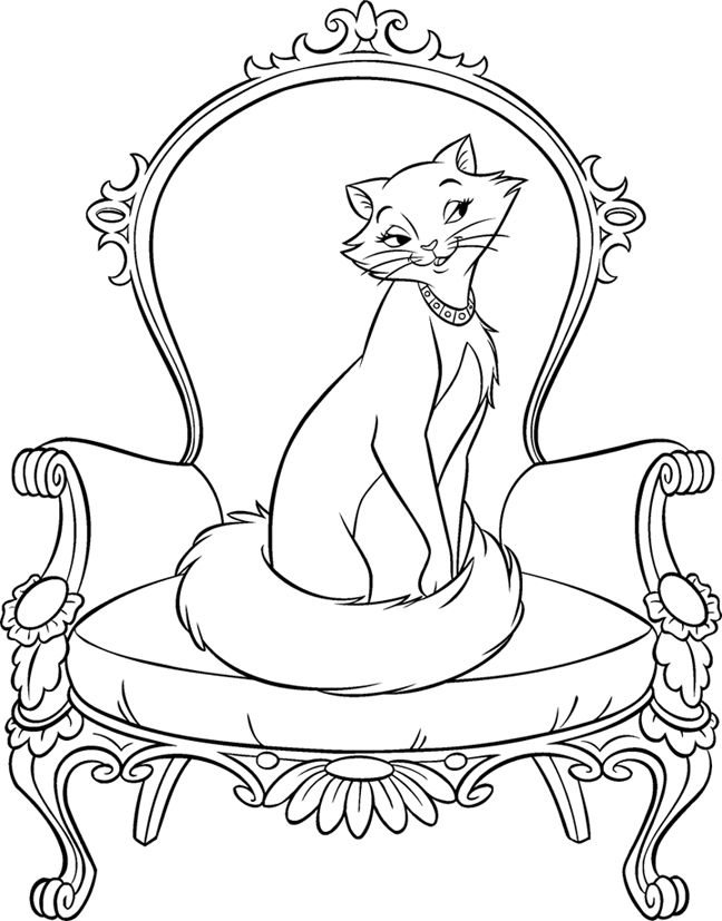 The aristocats | Coloring | Pinterest