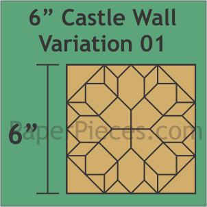 6 Castle Wall Variation 01