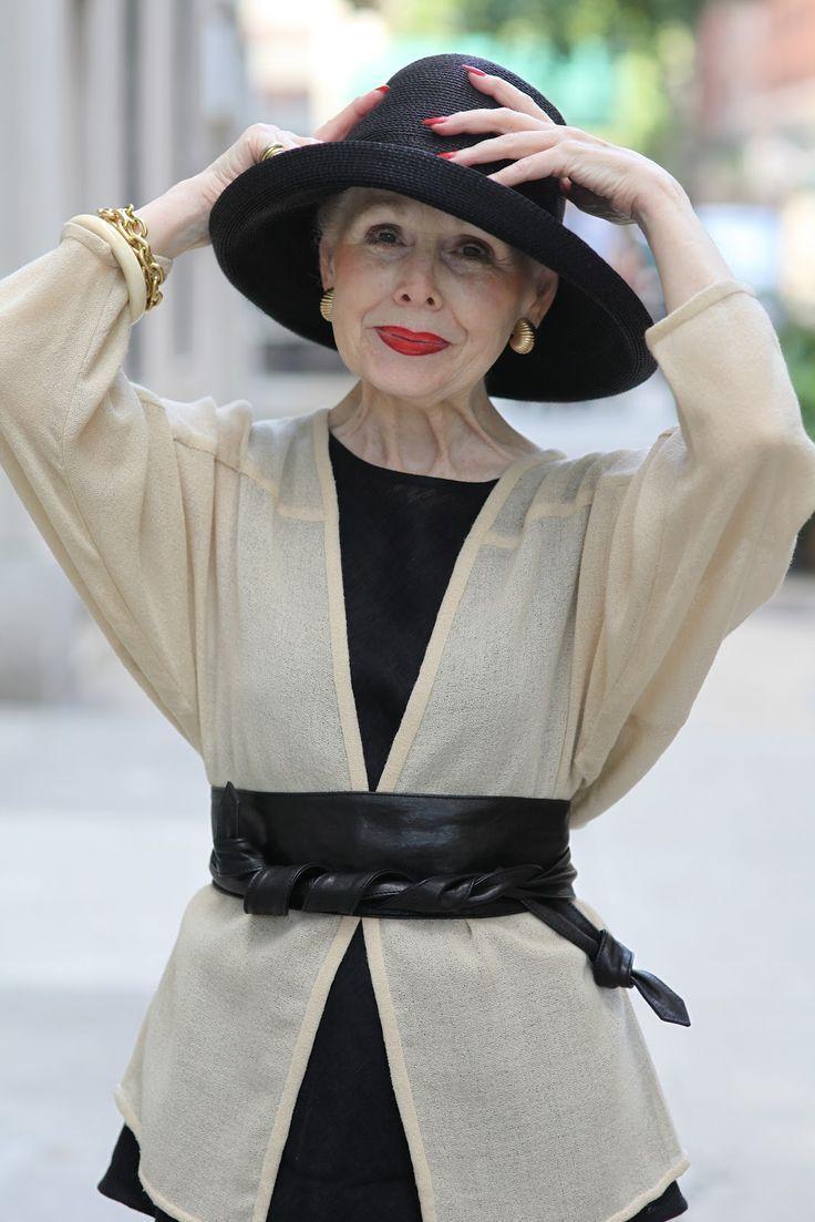 Die Damen auf dem Advanced Style-Blog inspirieren mich so