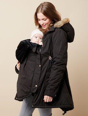 Winterjacke schwangere umstandsmode