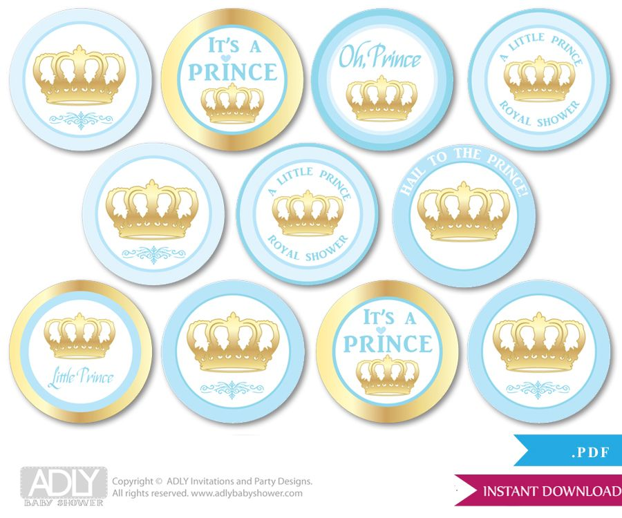 pin by crafty annabelle on prince printables | pinterest, Baby shower invitations