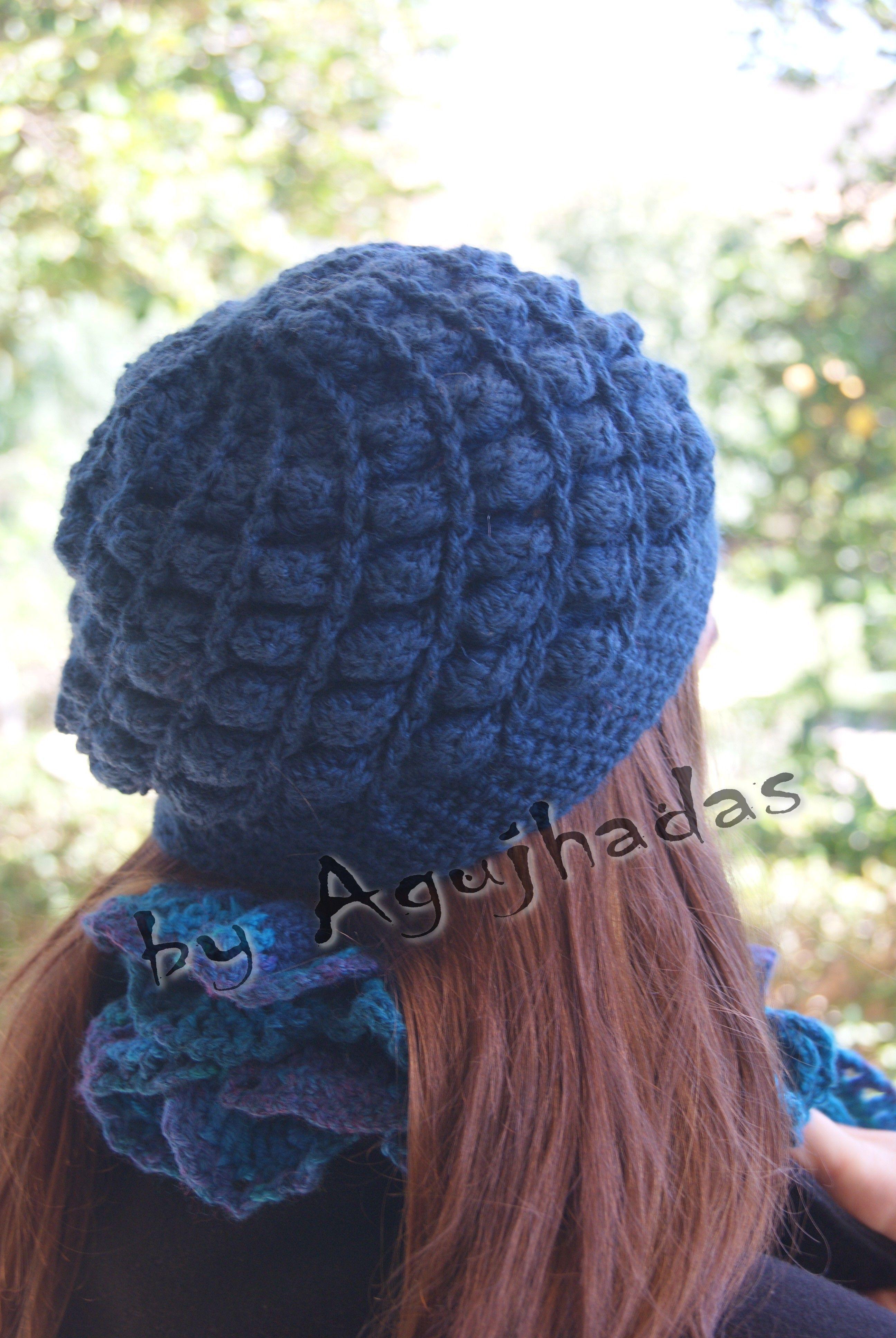 Coco woolen hat // Gorro de lana Azul.