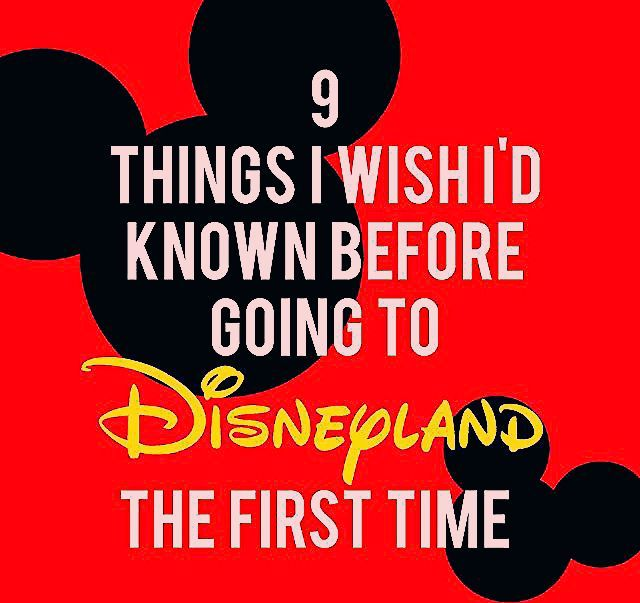 Photo of 9 Things I Wish I'd Known Before Going to Disneyland the First Time – Sunshine and Munchkins