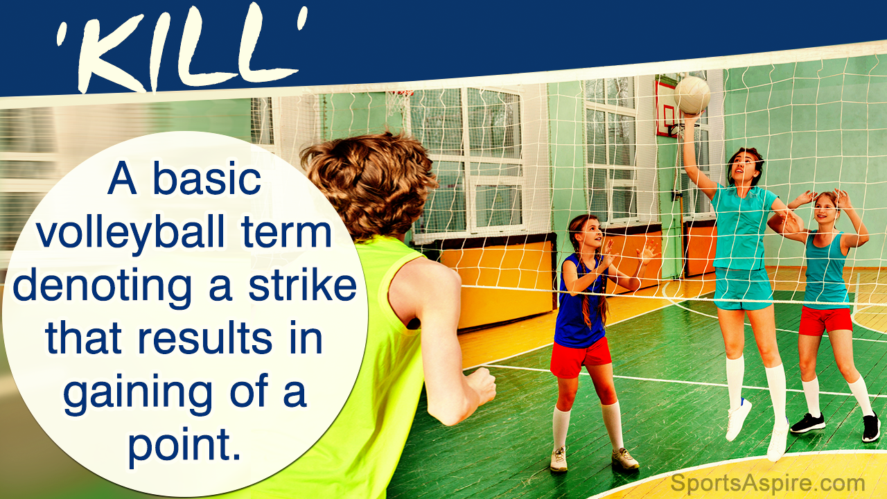 An A To Z List Of Volleyball Terms And Their Meaning Volleyball Terms Volleyball Kids Sports