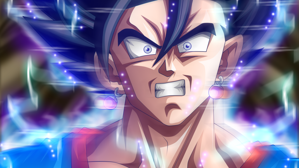 Vegito Ultra Instinct by rmehedi Dragon ball super manga