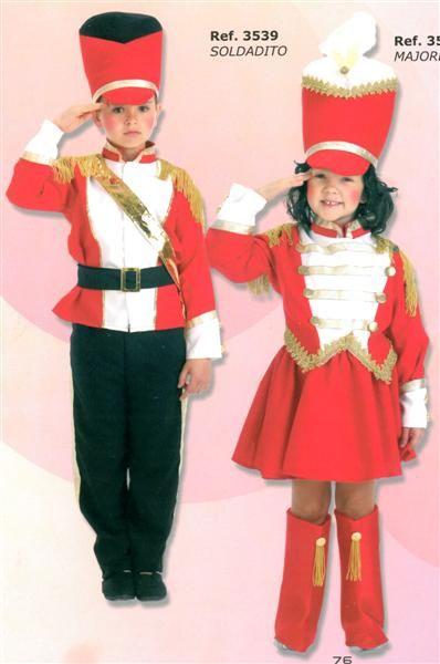 c6b889001 Tarjetas De Navidad · Soldadita y soldadito Trajes Navideños