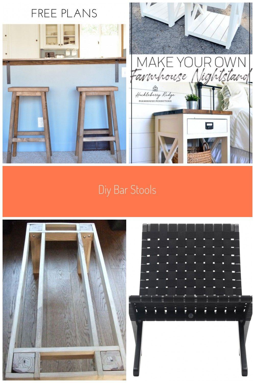 Diy Bar Stools Free Plans From Bitterroot Diy Woodworking Freeplans Barstools Furniture Plans Diy Bar Stools Tisch Tabelle