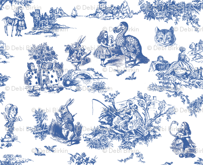 Colorful fabrics digitally printed by Spoonflower alice