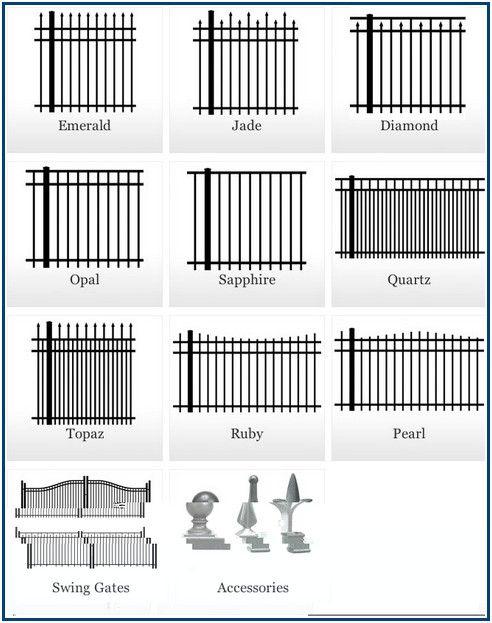 Striking Fence Installation Cost Calculator Aluminium Gates Aluminum