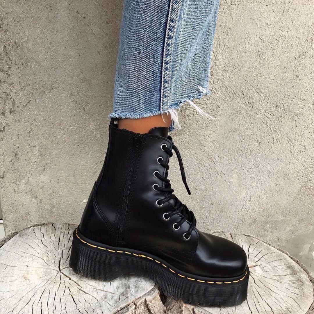 eleganckie buty Data wydania urzędnik dr martens jadon boots #black | everything perfect în 2019 ...