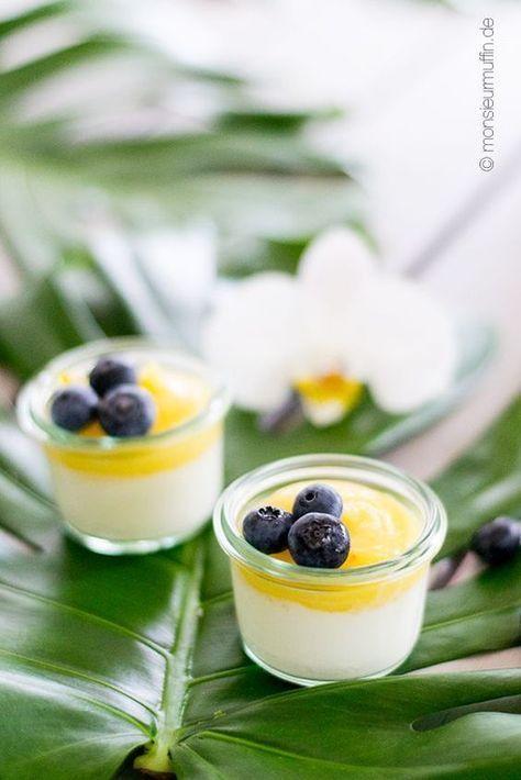 kokos ananas dessert – ein tropischer sommernachtisch und