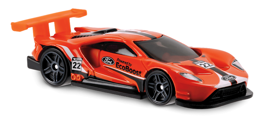 2016 Ford Gt Race In Orange Legends Of Speed Car Collector Hot