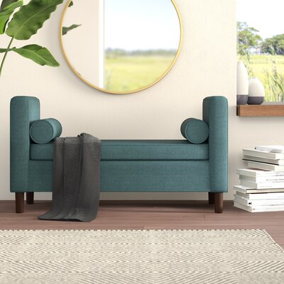 Strange Mercury Row Telesphorus Upholstered Storage Bench Upholstery Caraccident5 Cool Chair Designs And Ideas Caraccident5Info