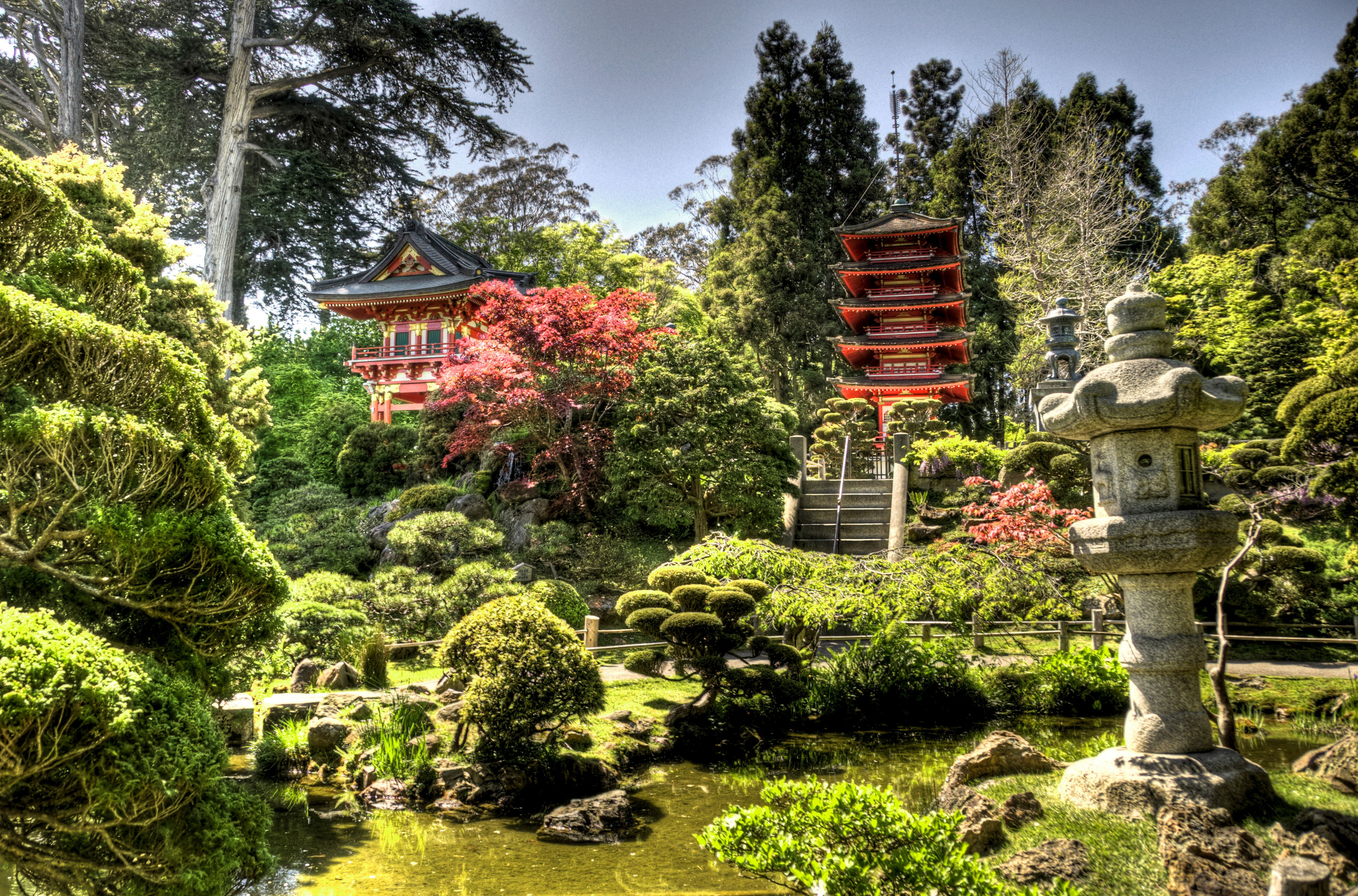 10 Places To See Cherry Blossoms In Los Angeles Japanese Garden