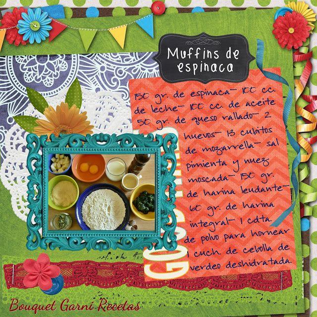 Bouquet Garni Recetas: Muffins de espinaca