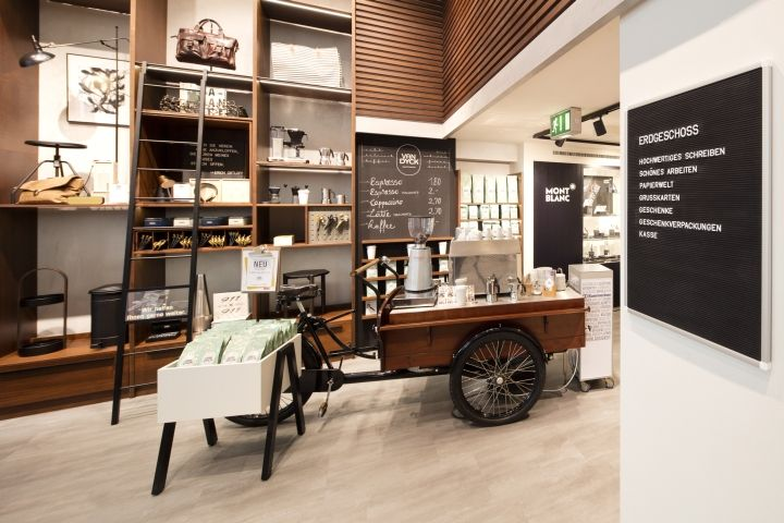 Ortloff store by the store designers cologne germany for Innenraum design blog