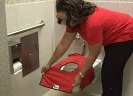 Potty Pax The Portable Toilet Seat Cover [VIDEO] DEFINTELY Going To Need  With Having Kids And Public Restrooms