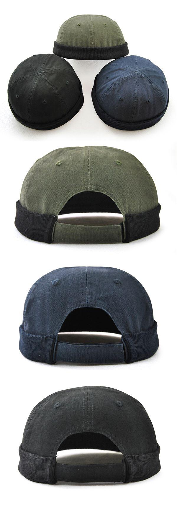 bcd9dd1f Men Women Plus Size Retro Brimless Hat Adjustable Hats For Big Head Rolled  Cuff Sailor Cap | NC* Hats & Caps | Sailor cap, Hats for big heads, Hats