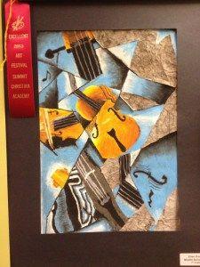 Cubism music instrument lesson plan | Art lessons, Cubism art, Art lesson plans