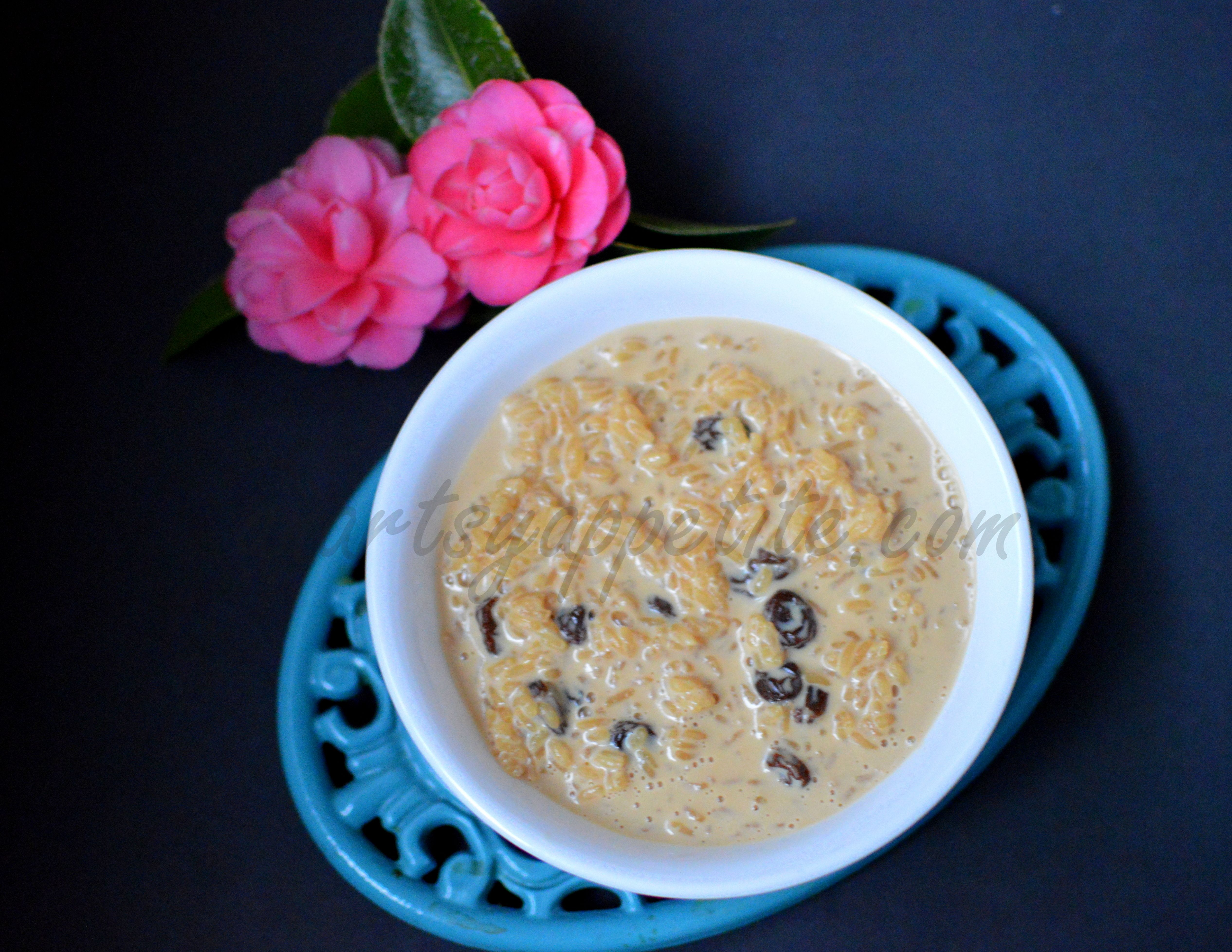 Easy three-ingredient Indian Rice Pudding - yes, that's ...