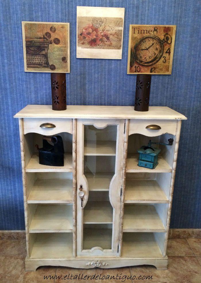 Pintar mueble rústico en blanco - El Taller de lo Antiguo ...
