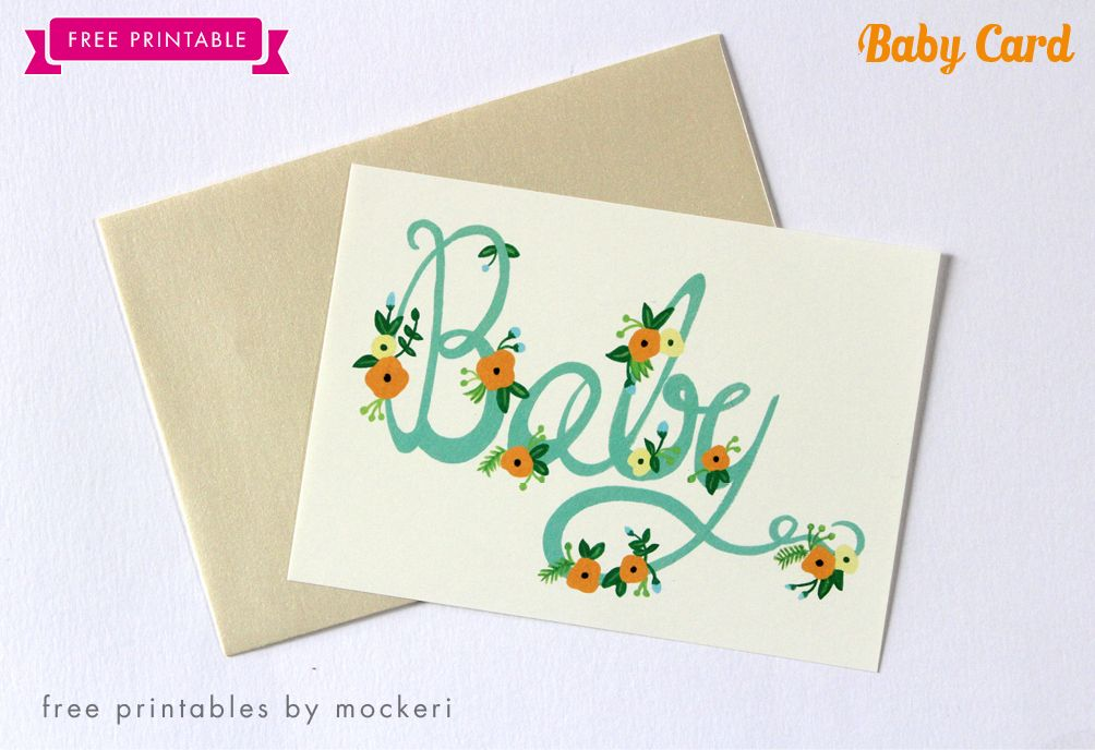 photograph relating to Free Printable Baby Cards Templates identified as Kid Shower/Congrats Card Mockeri Bash and Sentiment