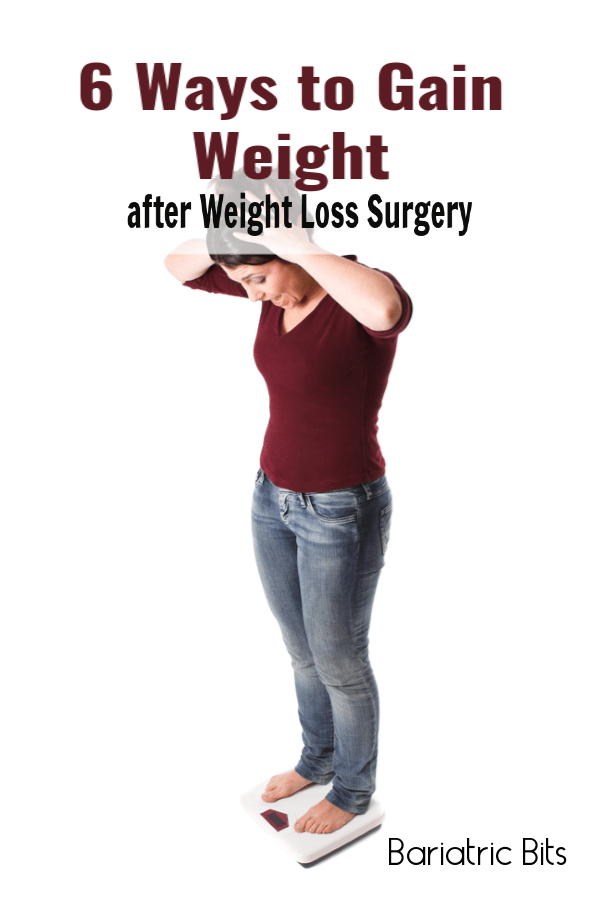 8da5ae24d04 Weight gain after weight loss surgery is a real thing. Here are the top 6  causes of weight gain after weight loss surgery. via  BariatricBits