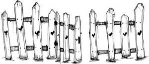picket fence drawing. Stampotique - Rubber Stamps DT Picket Fence 6090 Drawing