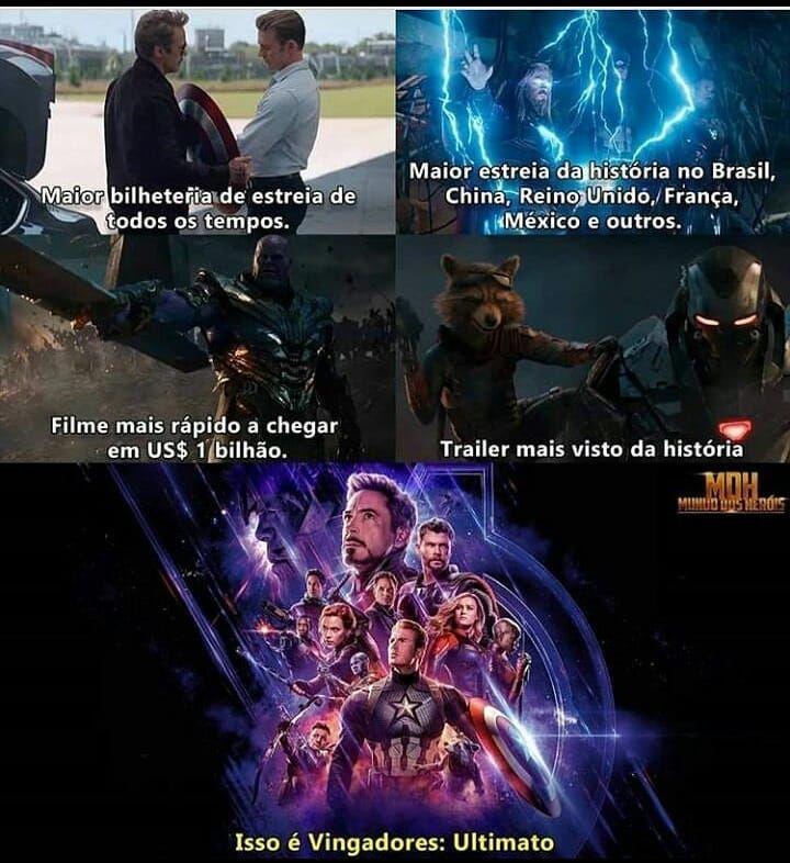 "Photo of MARVEL on Instagram: ""VINGADORES ULTIMATO❤🌟 #avengers #endgame #ultimato #vingadores4 #cinema #ucm #Disney #marvelcomic #marvel #Theavergens #avengers4 #nerd…"""