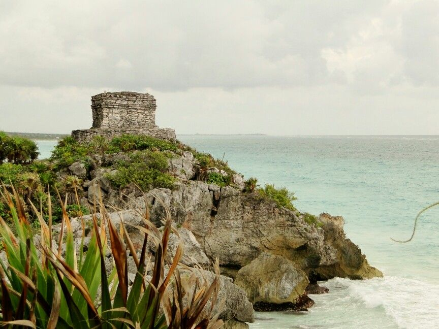 The observatory in Tulum, Mexico