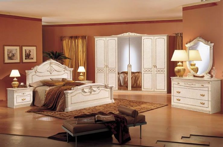 Rossella Classic Italian Bedroom - Complete Set Products - Italian Bedroom Sets
