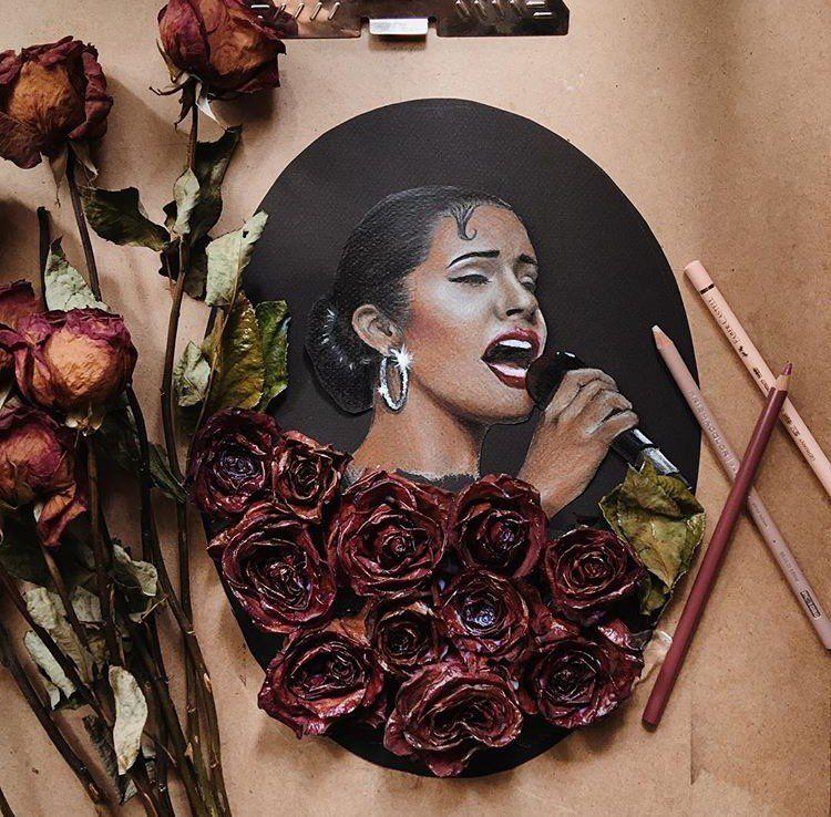 "Selena Quintanilla🕊 on Instagram ""By ricardoabraham"