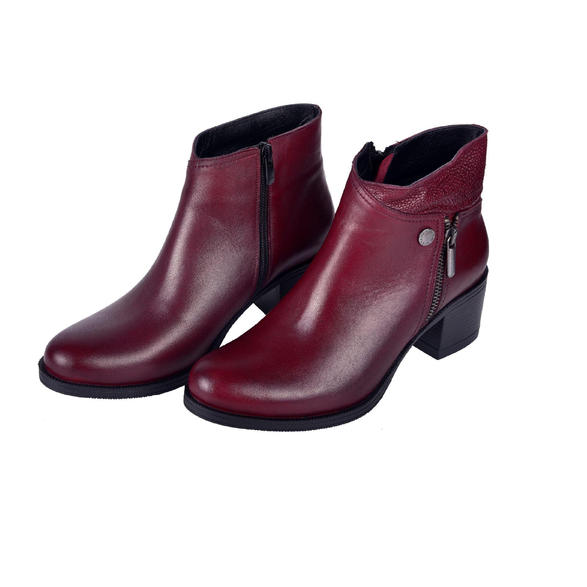 50531 Gunluk Kadin Bot Bordo Greyder Com Ankle Boot Boots Shoes