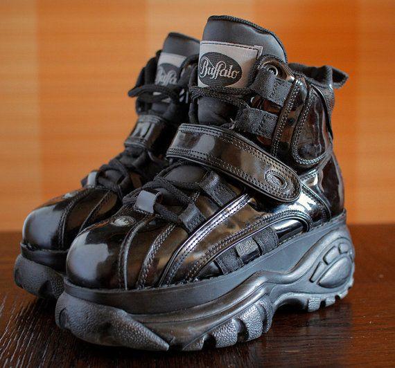 quite nice 23e7c 66d35 BUFFALO Platform Sneakers Rave Club Kid 90's Techno SPICE ...