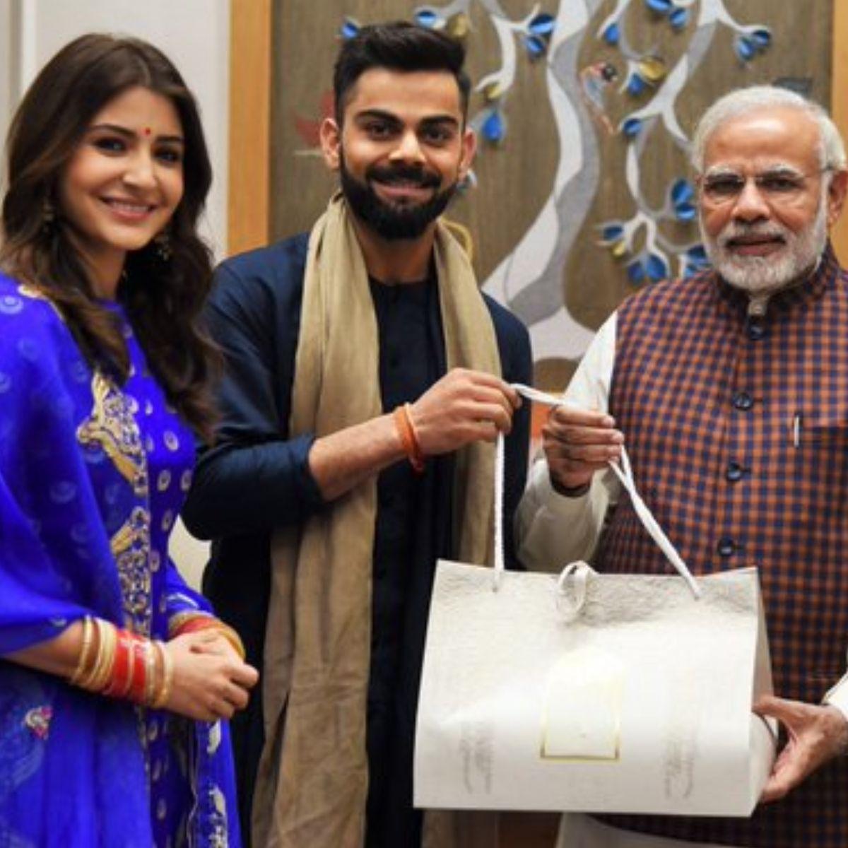 PM Modi congratulates Anushka Sharma & Virat Kohli