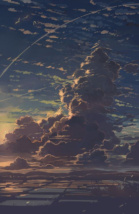 Always in Studio - theartofanimation: 幻想絵風 #scenery
