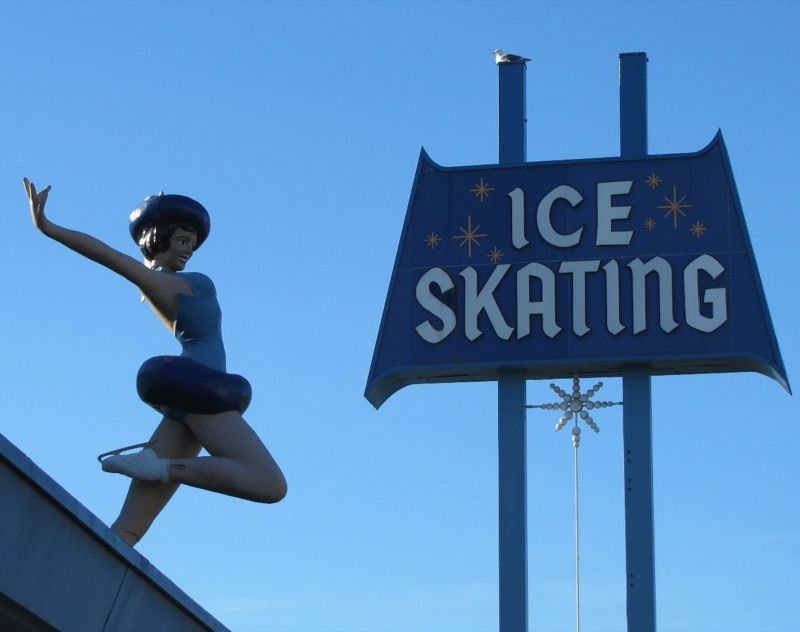 Culver City Ice Rink Sunday Strip Culver City Ca Culver City City Advertising Signs