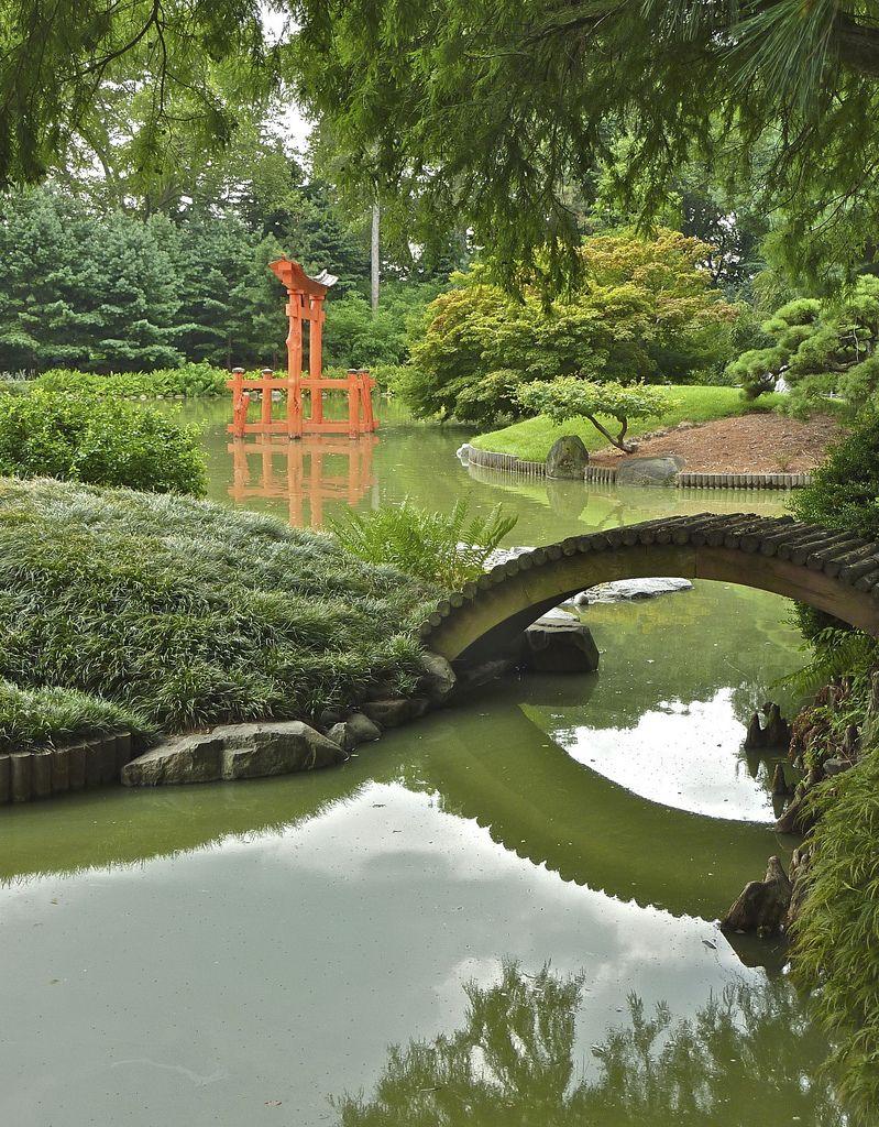 Japanese Hill And Pond Garden Japan Garden Japanese Garden Beautiful Gardens