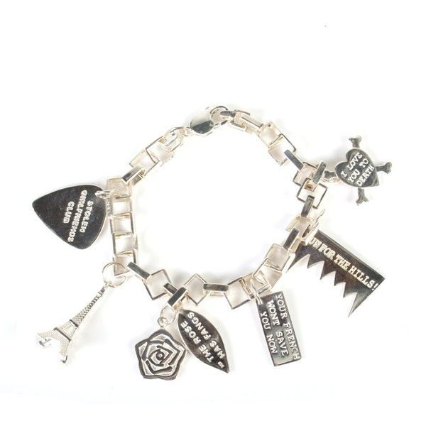Stolen Friends Club Jewellery Metal Bracelet With Charms 365 Liked On Polyvore