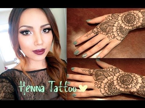Henna Tattoo Tutorial : Henna tattoo tutorial tips and tricks youtube beauty