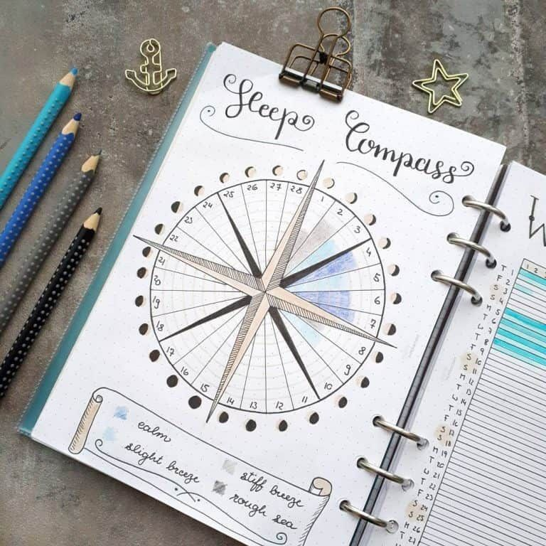 Sleep Trackers in your bullet journal for better sleep habits sleep tracker for bullet journalsleep tracker for bullet journal