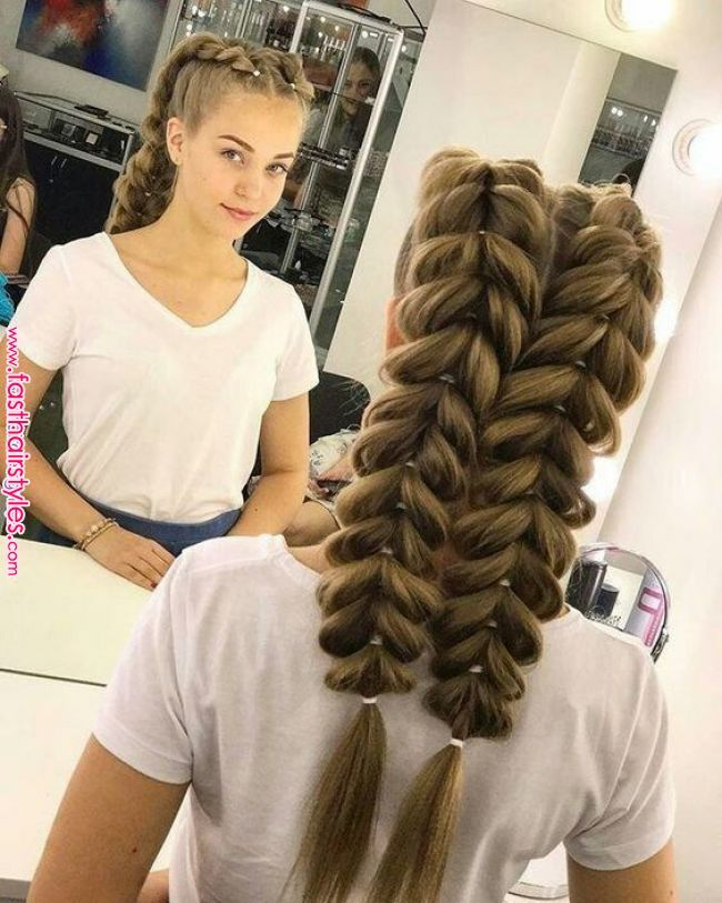 40 Cute And Easy Braided Hairstyle Tutor Hairstyles - Hair Beauty