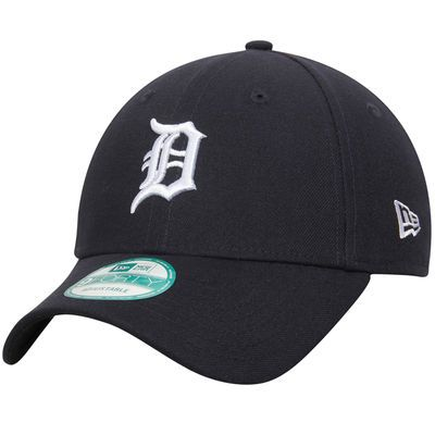 official photos 42f0f b98c6 Men s Detroit Tigers New Era Navy League 9FORTY Adjustable Hat