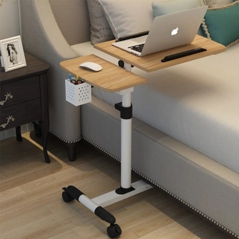 Foldable Computer Table Adjustable Portable Laptop Desk Rotate Laptop Bed Table Can Be Lifted Laptop Table For Bed Portable Laptop Desk Portable Computer Desk